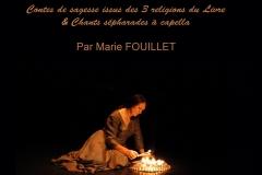 Affiche conteuse professionnelle Marie Fouillet