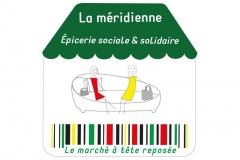 Logo La meridienne épicerie sociale & solidaire